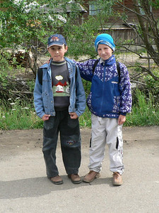 The younger generation in Maramures