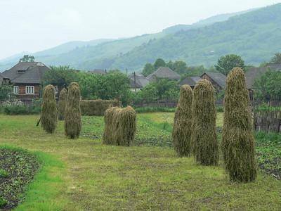 Romanian style haystacks