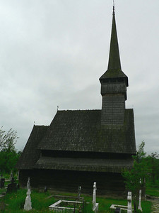 Old wooden church, Mamamures