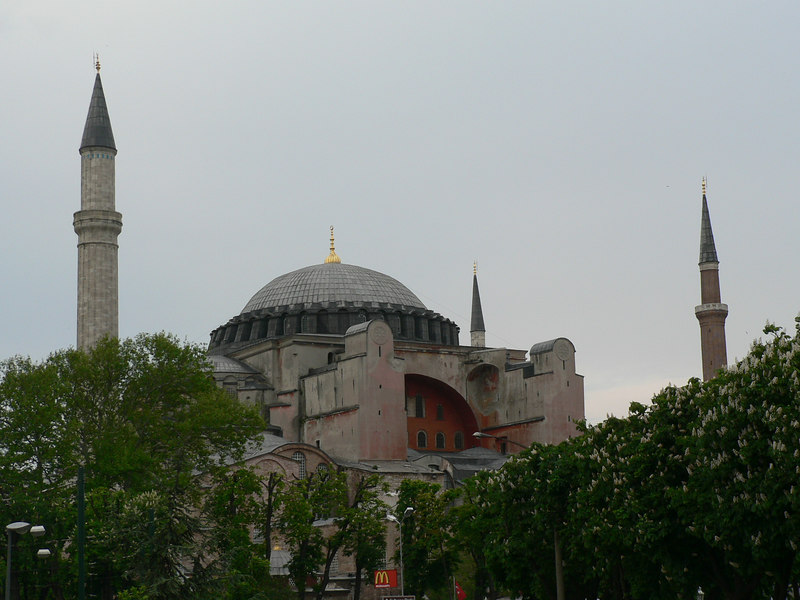 Hagia Sofia - first a church, then a mosque, now a museum