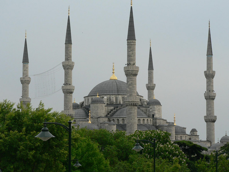Everywhere you look in Istanbul - minarets