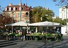 Just outside my pension, on the Lendplatz, I found a morning market