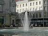 One of Graz' many fountains near Jakominiplatz