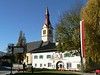 The center of Igls, totally quiet in the November off-season