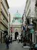 Looking down Kohlmart towards Michaelerplatz and the Hofburg (and my favorite cafe, the Griensteidl