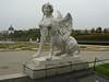 Statue outside the Belvedere