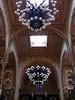 Candelabra inside the Dohany Synagogue
