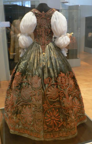 Costume, Esterhazy exhibition, Art and Crafts Museum