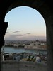 View from Fisherman's bastion at sunset
