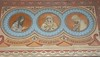 Detail of the wall painting in St. Matyas Church