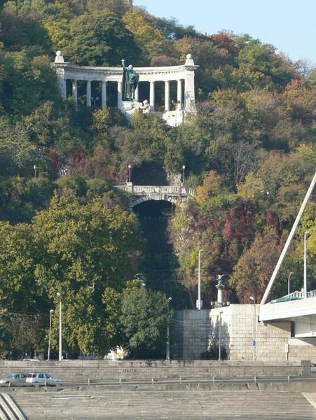 View of Gellert Hill from Pest