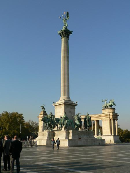 Centerpiece of Hero's Square