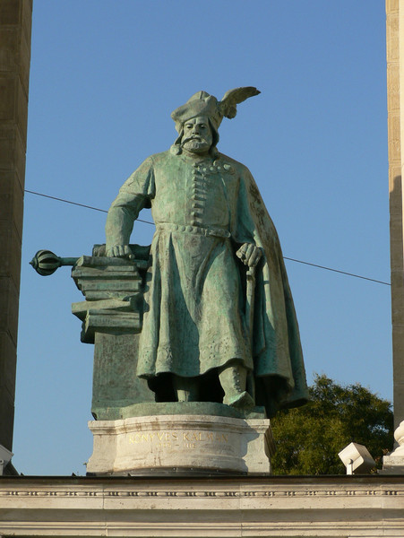 Another figure from Budapest's history