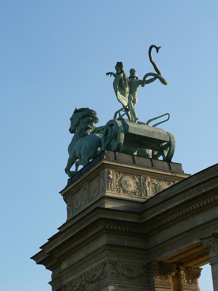 Sculpture in Hero's Square