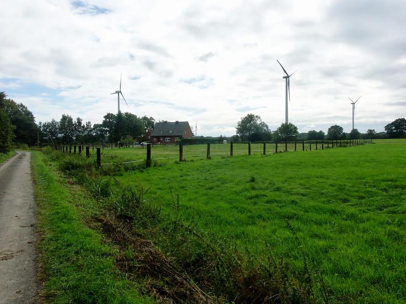 Wind turbines in Schoppingen
