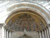 Mosaic on the front of St. Mark's Basilica