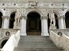 The impressive staircase visitors had to climb to reach the Doge's Palace
