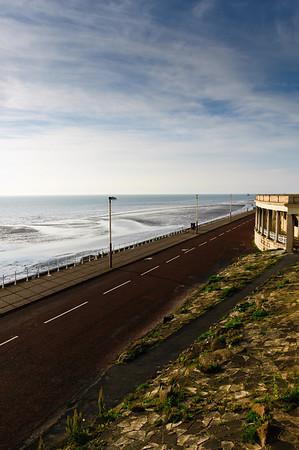 Coastline Blackpool England
