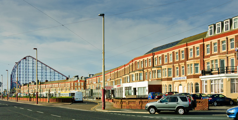Waterfront hotels Blackpool England