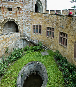 Inner courtyard Hohenzollern Castle Germany - June 2008