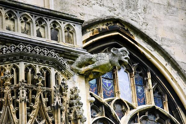Gargoyle Canterbury Cathedral Kent