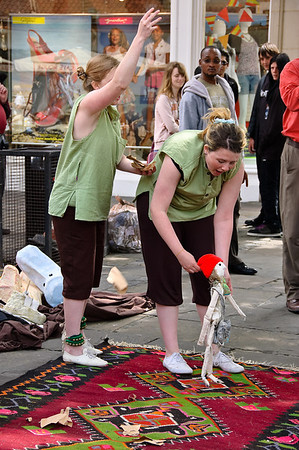 Street theatre Canterbury Kent