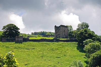 Peveril Castle Derbyshire England