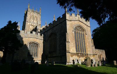 St James in Chipping Campden - One the finest wool churches started in 1260.