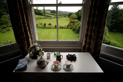 View from our B&B room.  Perfect place for afternoon tea!