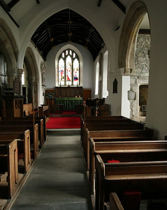 Interior, St. Peter's in Peter Tavy