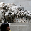 "British Museum - We were in Greece 2 years ago, and definitely came to see the Elgin Marbles.  They're amazing!  Interestingly, the museum at the Parthenon restricted my photography, but the British Museum has no restrictions.  Lots of controversy about who should have these.  For more info:  <a href=""http://tinyurl.com/68793y"">http://tinyurl.com/68793y</a> and <a href=""http://www.greece.org/parthenon/marbles/"">http://www.greece.org/parthenon/marbles/</a>"