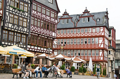 Römerberg Frankfurt am Main Germany