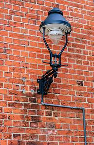 Gas lamp Lübeck