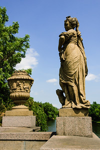 Statue of Poseidon Puppenbrücke Lübeck