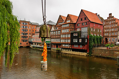 Old Harbour Luneburg Germany
