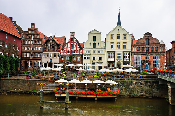 Stint Market Luneburg Germany