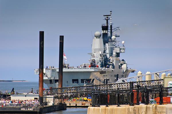 HMS Ark Royal Liverpool England