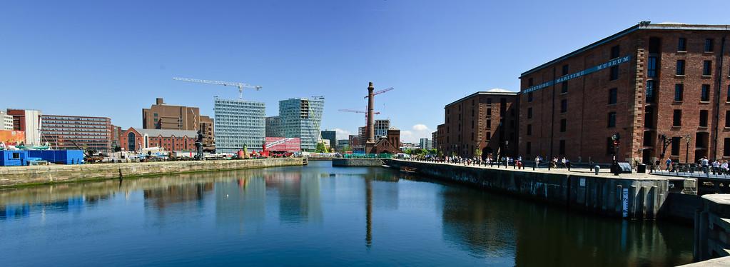 Albert Dock Liverpool Merseyside England
