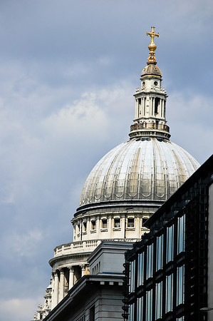 Dome St Paul Cathedral London
