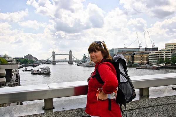 Gill Millenium Bridge London