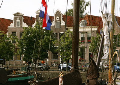 Blokzijl - started at a fortified lock in the 1580s.