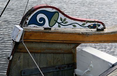 Blokzijl - ship's rudder.