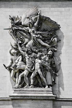 La Marseillaise Arc de Triomphe Paris