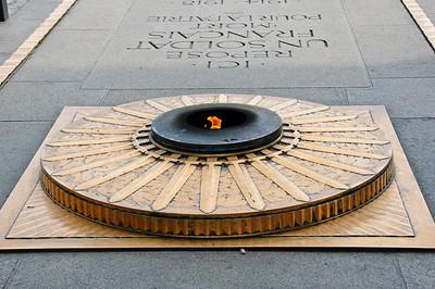Tombe du Soldat Inconnu Arc de Triomphe Paris