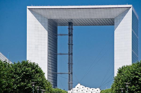 La Grande Arche La Defense Paris France