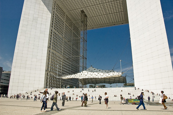 La Grande Arche La Defense Paris France