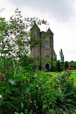 Elisabethan Tower Sissighurst Castle Kent United Kingdom