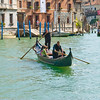 Traghetti - a gondola which ferries people across the Grand Canal @ 1 euro