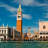 "St Mark's National Library & Archeological Museum,<br> the Campanile & the Doge's Palace leading to St Mark's square<br><br>  <a href=""http://en.wikipedia.org/wiki/St_Mark's_Square"" target=""_blank"">Wikipedia - St Mark's Square</a><br>  <a href=""http://en.wikipedia.org/wiki/Doge's_Palace"" target=""_blank"">Wikipedia - Doge's Palace</a><br>  <a href=""http://en.wikipedia.org/wiki/St_Mark's_Campanile"" target=""_blank"">Wikipedia - St Mark's Campanile</a><br>   <a href=""http://en.wikipedia.org/wiki/Biblioteca_Marciana"" target=""_blank"">Wikipedia - National Library</a><br>"