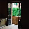 Inside looking towards Juliet's balcony.